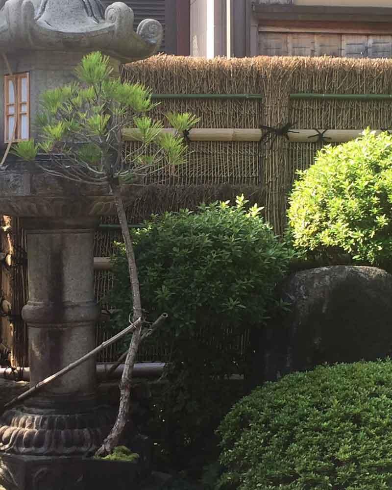 枝垣・美しい竹垣と言えば枝垣