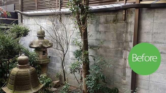 建仁寺垣ビフォー(施工前)